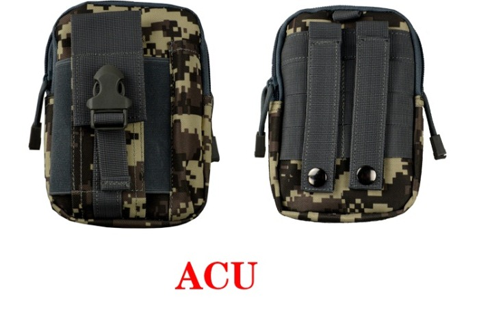 Tatical Military Molle Packbag/Shoulder Bags For Fishing ACU Color