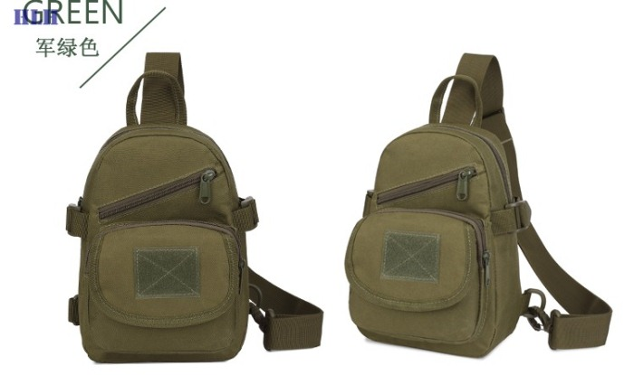 Tactical Oxford Meterial Shoulder Bags Airsoft Outdoor PackpackGreen