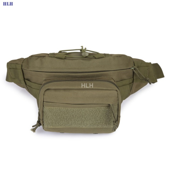 Male Shoulder Bag Tactical Bags Men Outdoor Casual PackBags Green