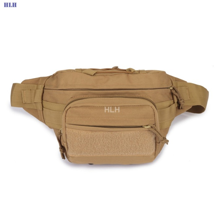 Male Shoulder Bag Tactical Bags Men Outdoor Casual PackBags Tan