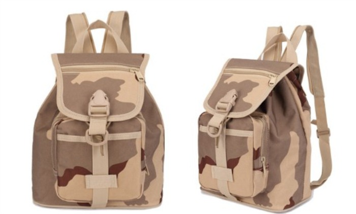 Men'S Backpack Travel Shoulder Bags Molle Rucksack Bags SS