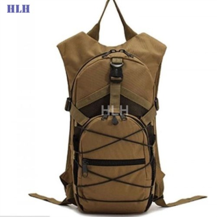 Tactical Oxford Meterial Water Bags With Big Capacity Tan