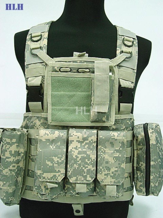 Tactical Sleeveless Garment For Men Hunting Military Vest ACU