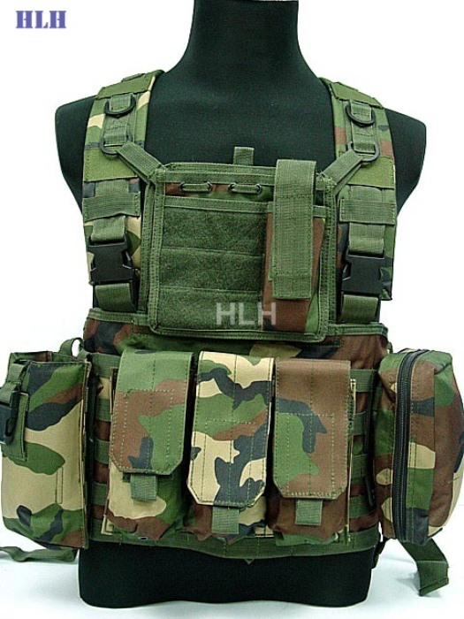 High Quality Combat Army CS games Tatical Vest Hunting Vest