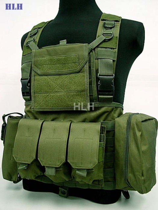 Good Quality Military Vest Hunting Protection Men's Vest Green