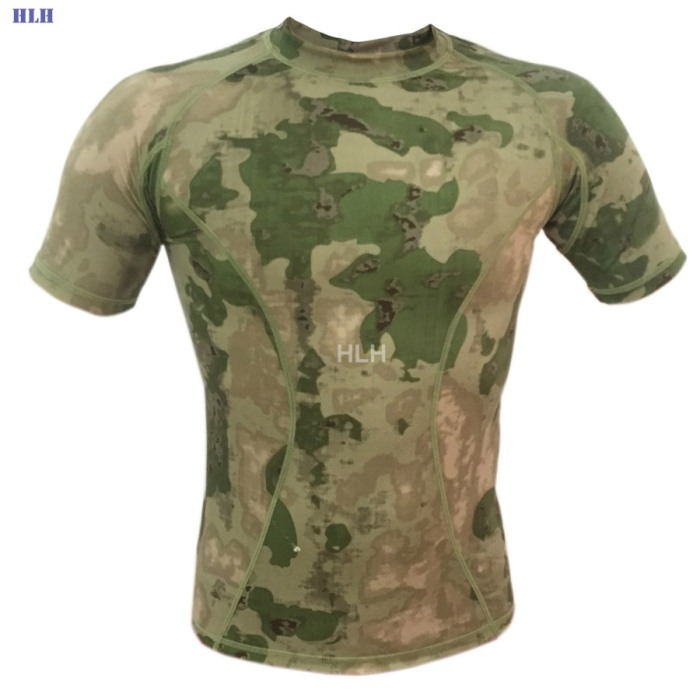 5 Colors Breathable Camouflage Tactical Paintball Airsoft Tees SFG