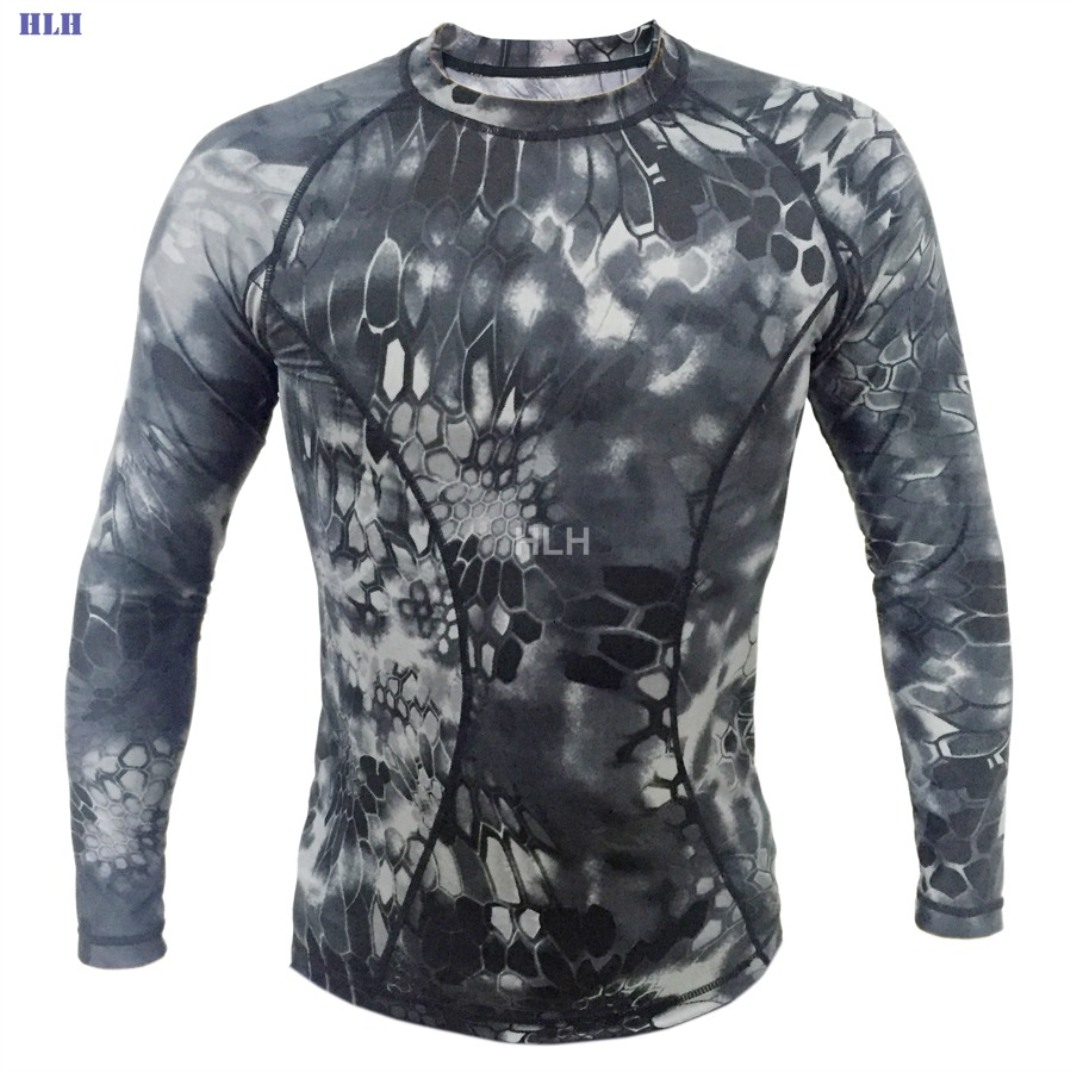 5 Colors Breathable Camouflage Tactical Paintball Long Sleeve SMWBK