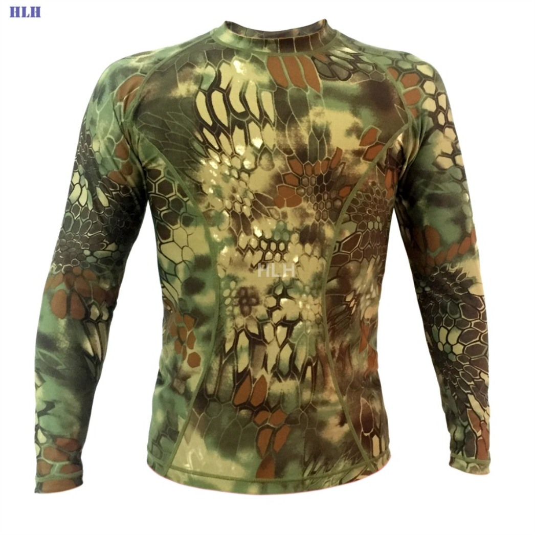 5 Colors Breathable Camouflage Tactical Paintball Long Sleeve SMWCL