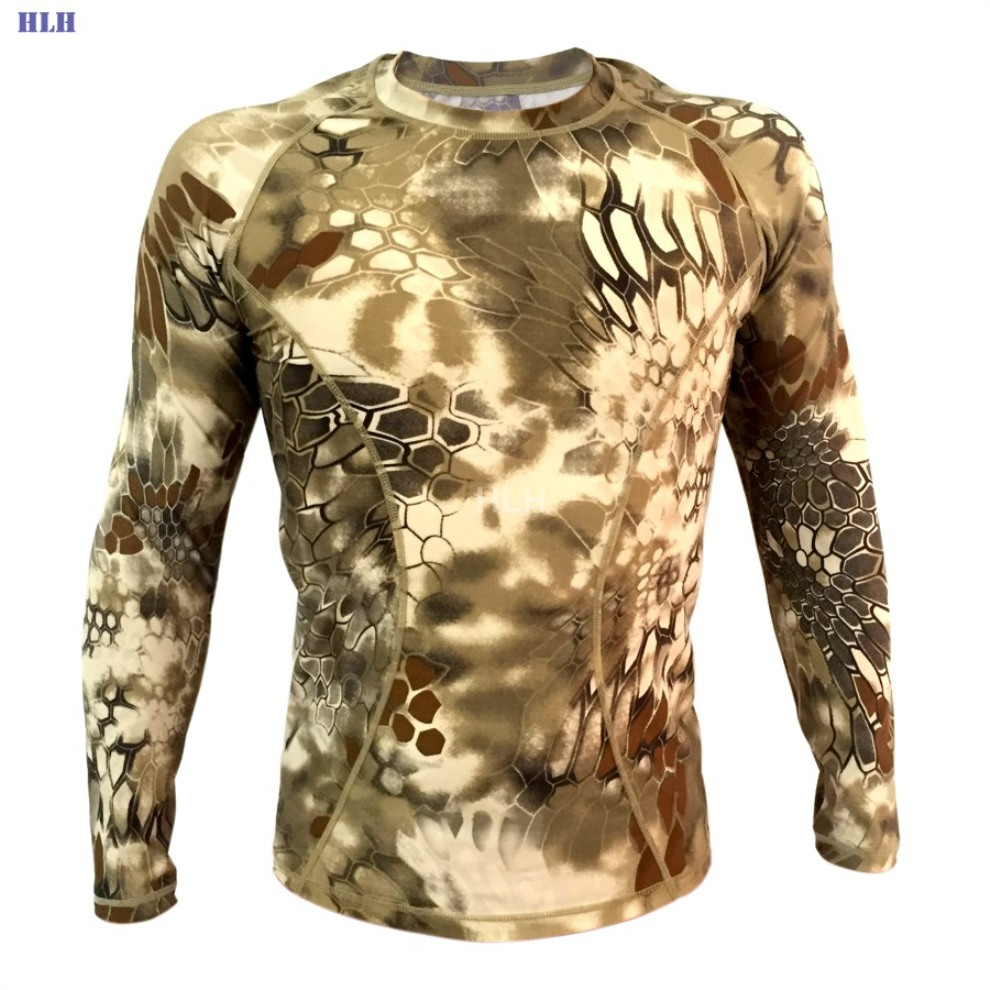 5 Colors Breathable Camouflage Tactical Paintball Long Sleeve MMWHD