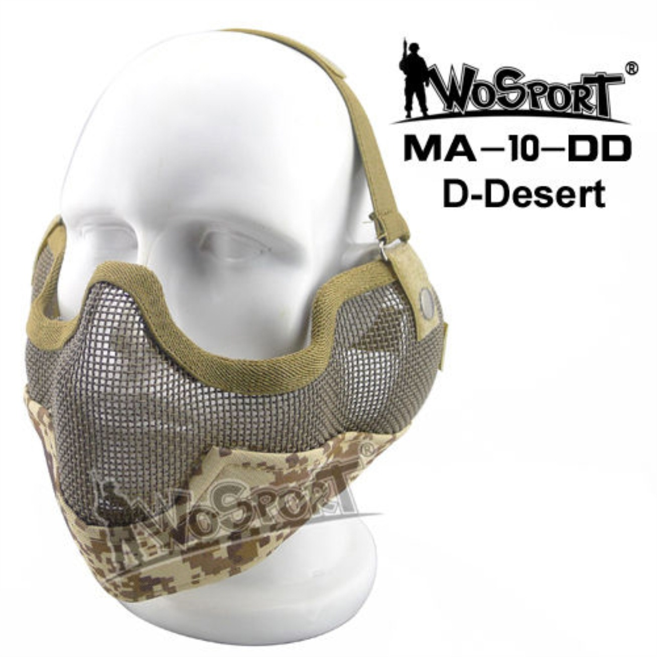 Tactical Outdoor Military Hiking WST Wire Mask SMSM