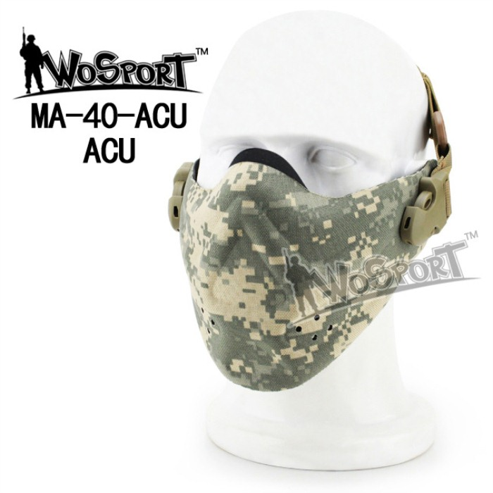 Tactical Outdoor Military Hiking Lightweight Foam Mask ACU