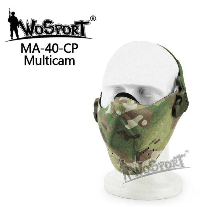 Tactical Outdoor Military Hiking Lightweight Foam Mask CP