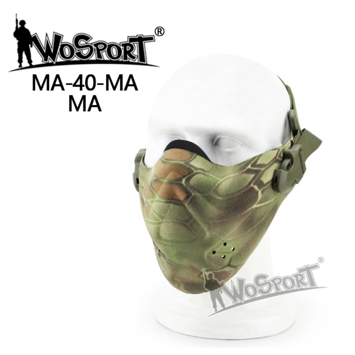 Tactical Outdoor Military Hiking Lightweight Foam Mask MWCL