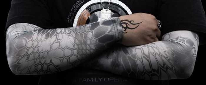 Tactical Arm Sleeve Cycling Bike Armwarmers Golf Arm Sleeve Men