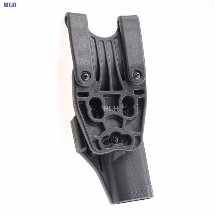 Tactical Glock Holster Gun Pistol Holster for Glock 17 19 22 23Black