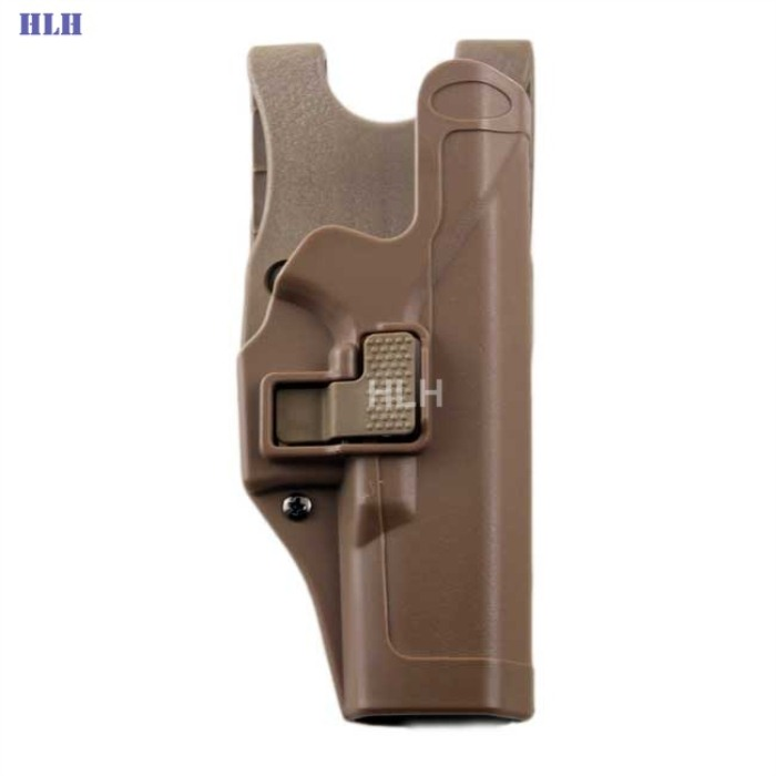 Tactical Military Right Hand Holster for Glock 17 19 22 23 31 Tan