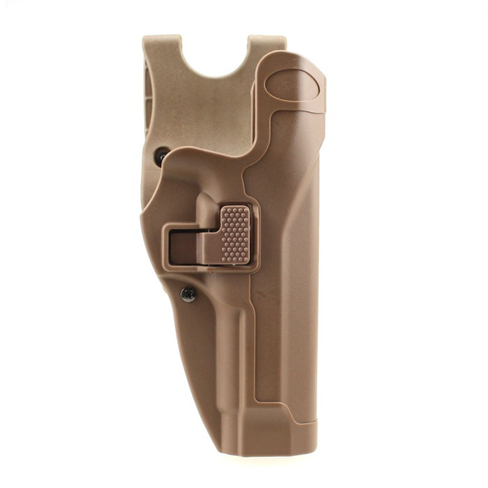 Tactical Military Right Hand Holster for Beretta M9 M92 Tan