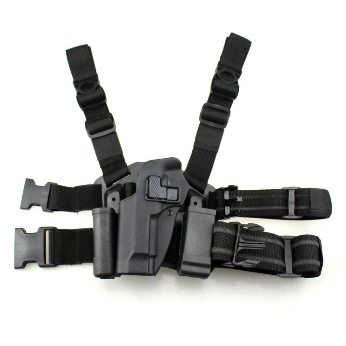 Tactical M92 Leg Holster Left Hand Beretta M9 M92 Black