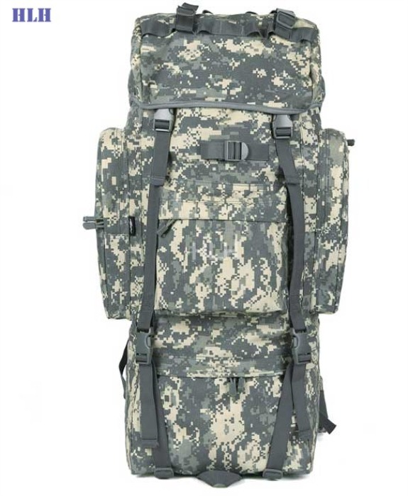Travel Rucksacks Camping Hiking Trekking Camouflage Bags ACU