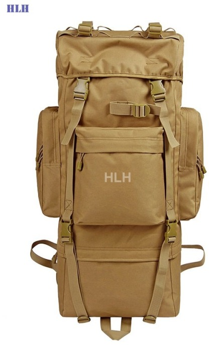 Travel Rucksacks Camping Hiking Trekking Camouflage Bags Tan