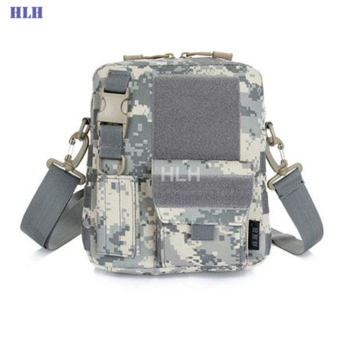 Tactical Military Bag MOLLE System Single Shoulder Packpack ACU