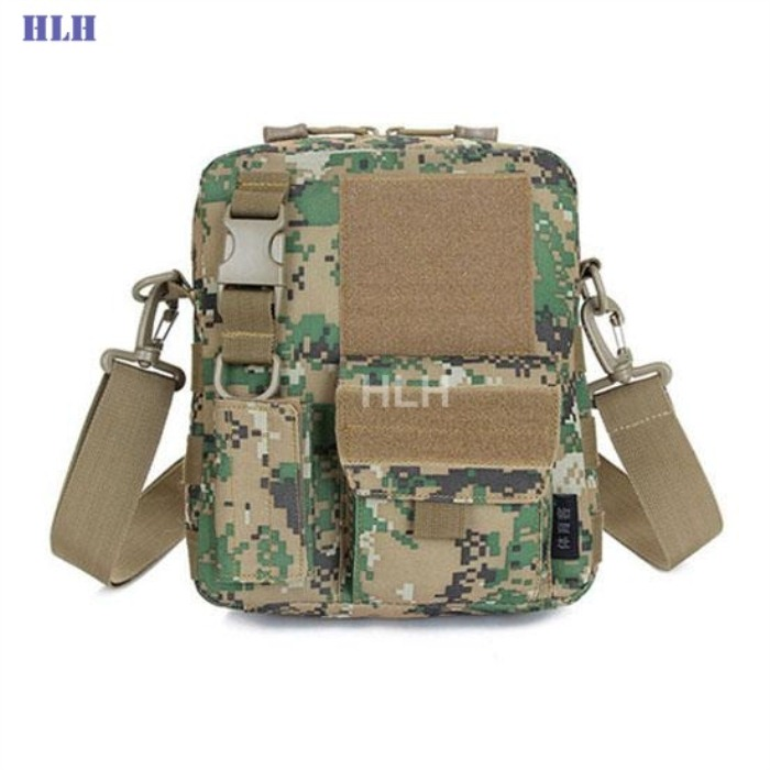 Tactical Military Bag MOLLE System Single Shoulder Packpack SMSM