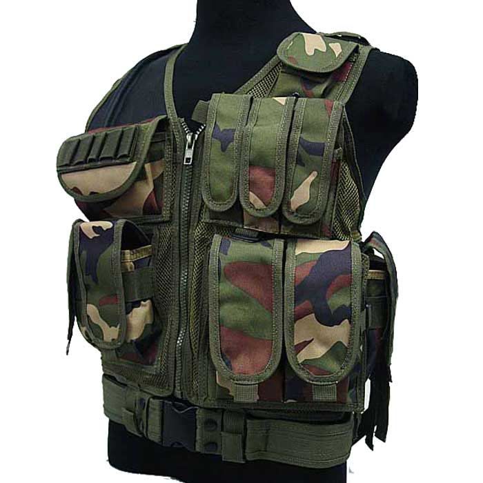 Mesh Tactical Vest Law Enforcement Swat Police Combat Vest Pistol Ca
