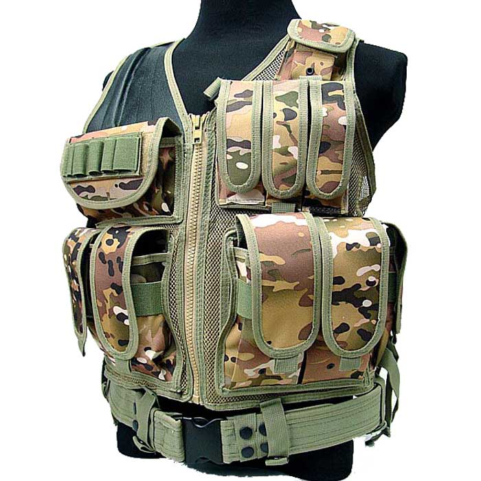 Cp Combat Molle Mesh Protective Vest Cqb Accessories W Tactical oWeCrdBQx