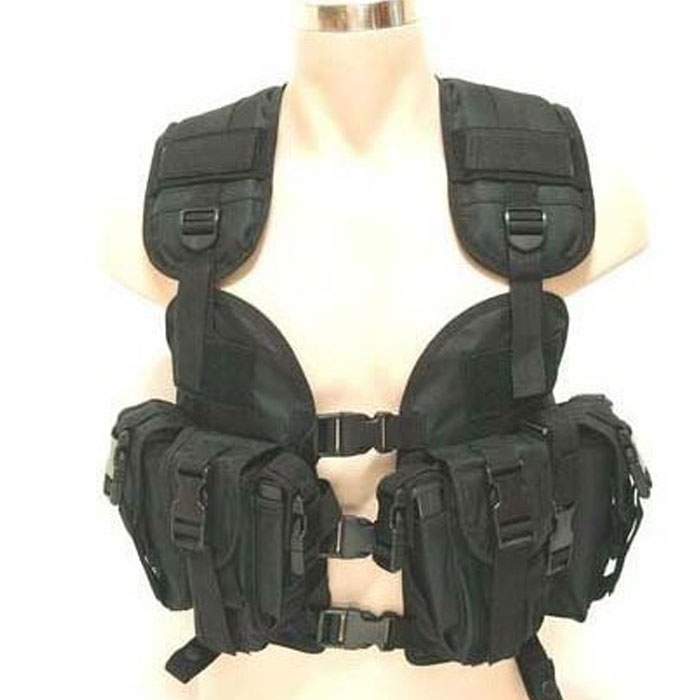 US Military Modular Load Assault Swat Us Navy Seal Tactical Vest BK