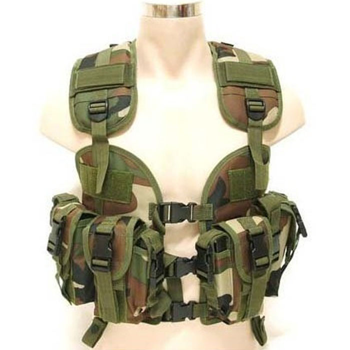 US Military Navy Seal Vest Assault Tactical Molle Swat Combat Vest C