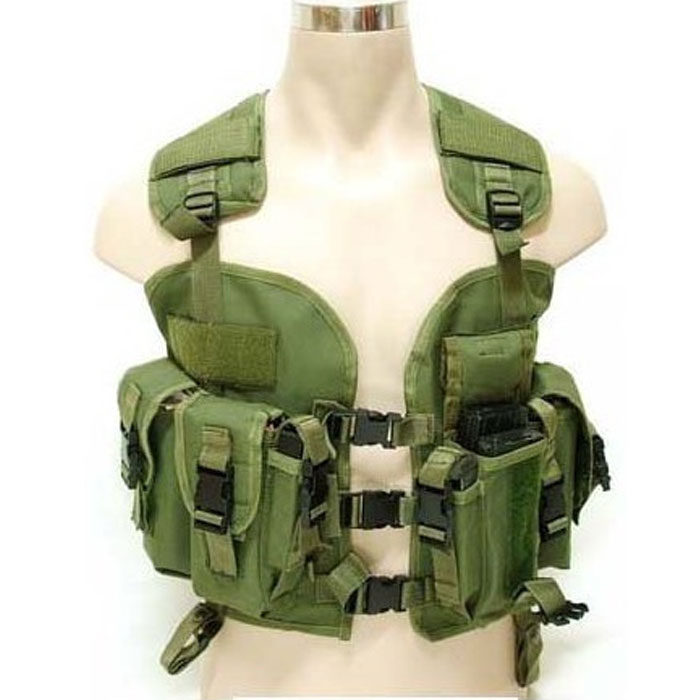 US Military Navy Seal Vest Tactical Molle Assault Swat Combat Vest O