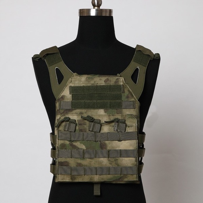 Durable 1000D JPC Tactical Vest Molle Military Police Vest AT-FG