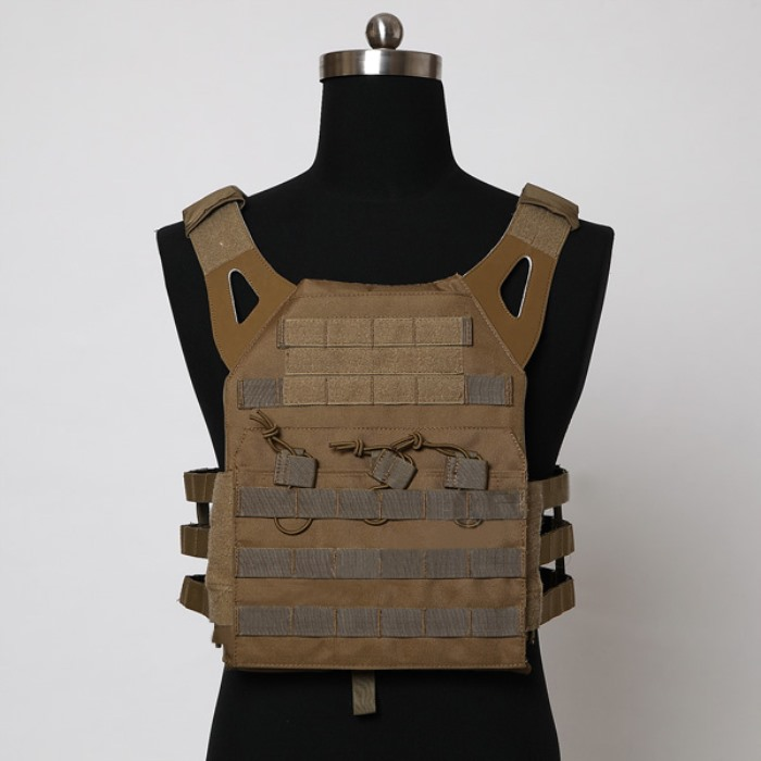 Durable 1000D JPC Tactical Vest Molle Airsoft Bullet Proof Vest TAN