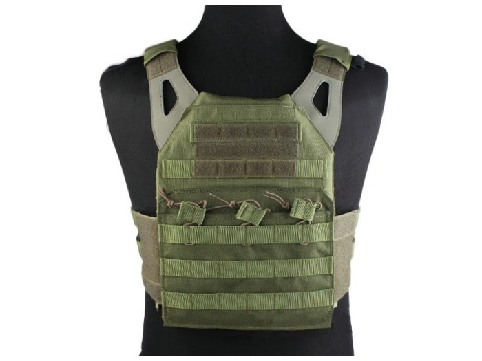 Durable 1000D JPC Tactical Vest Molle Military Compact Vest OD