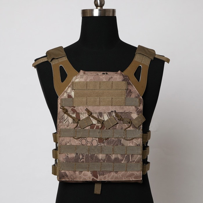 Durable 1000D JPC Tactical Vest Molle Airsoft Compact Vest Python