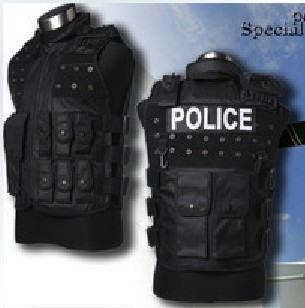 Tactical Combat ARMOR Vest Police & SWAT Vest Free Magic Tape