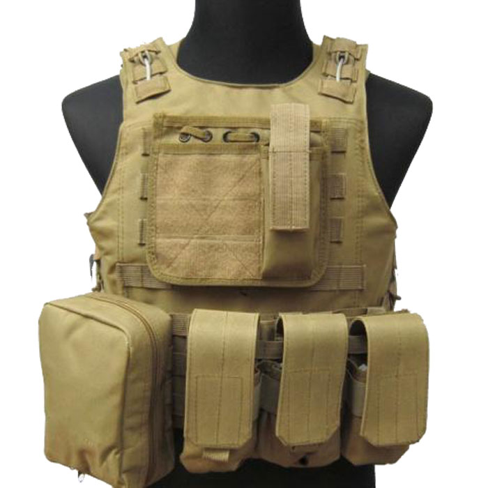 Tactical Vest Military Airsoft Paintball Wire Combat Vest